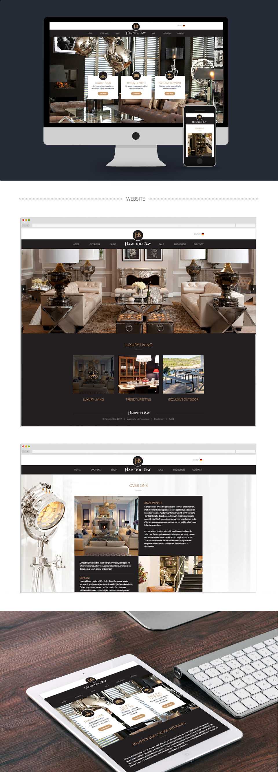 Webdesign - Hampton Bay