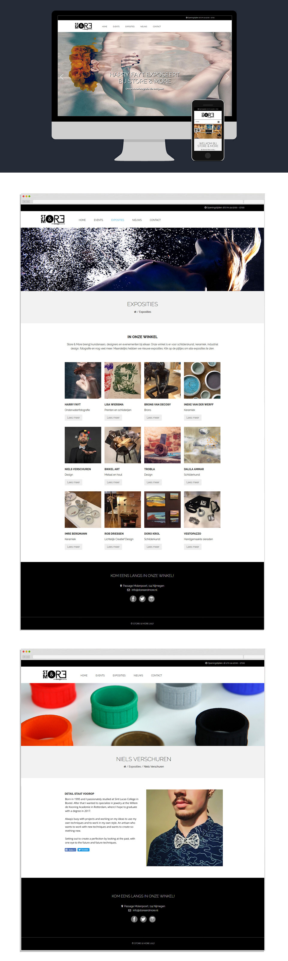 Webdesign - Store & More