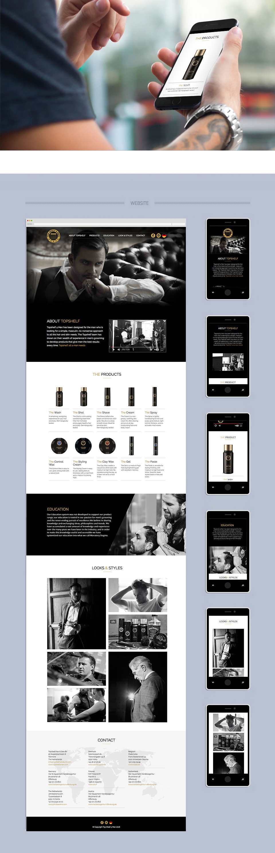 Webdesign - Top Shelf 4 Men